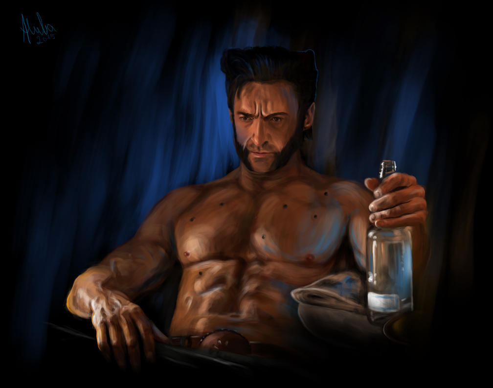 Wolverine by Alivenger