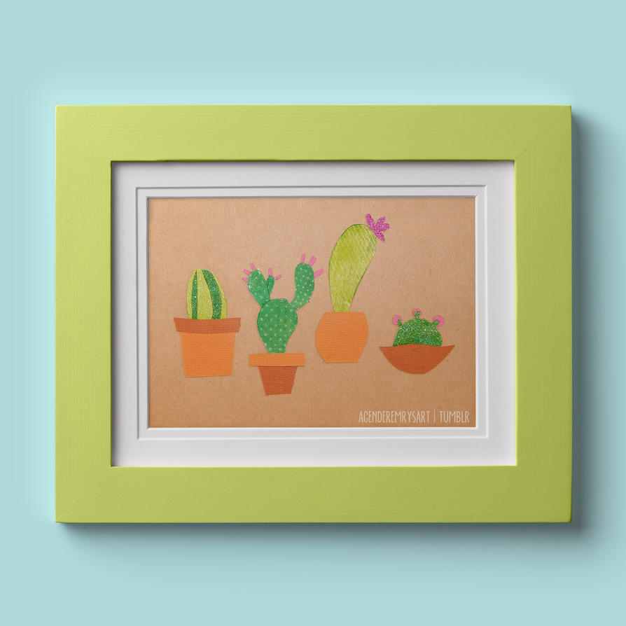 Day 2: Cacti by thesearejessicakes