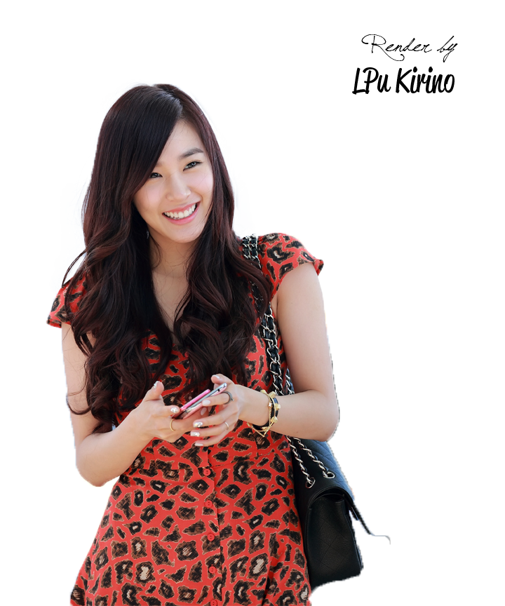 Tiffany @Incheon Airport PNG4 by LPuKirino