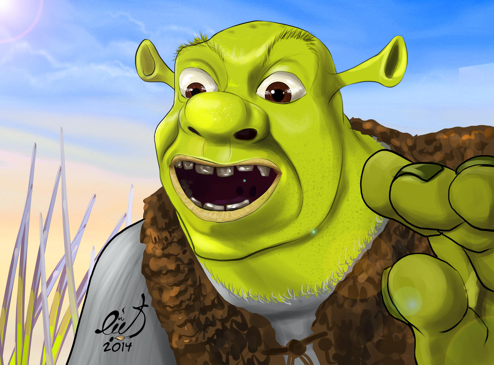 Shrek heitai hardcore movie