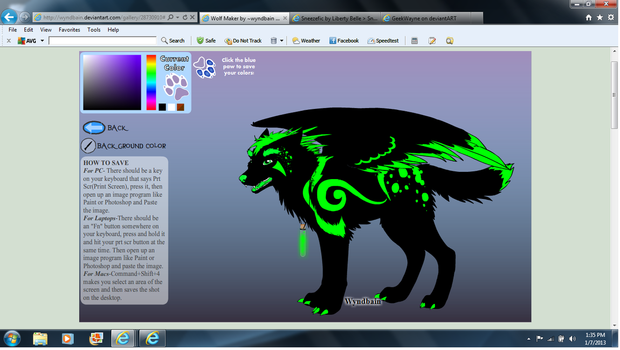 Poisona the Poison Wolf by PiccoloFreakNamick