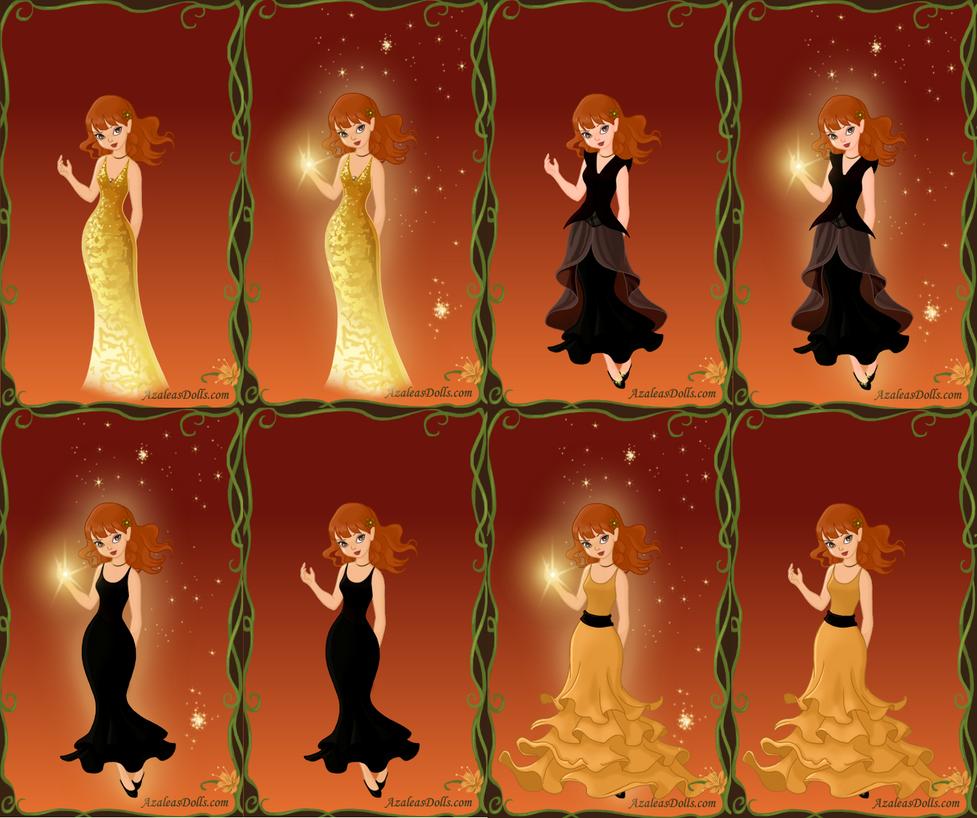 XMETAS Crystal Dresses by PiccoloFreakNamick