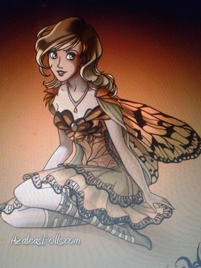August the fairy by PiccoloFreakNamick