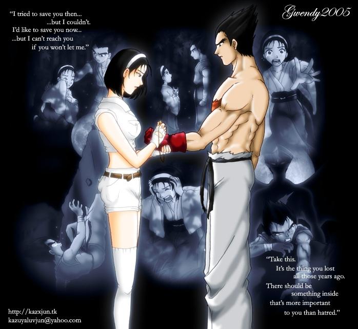 tekken jun and kazuya relationship with god