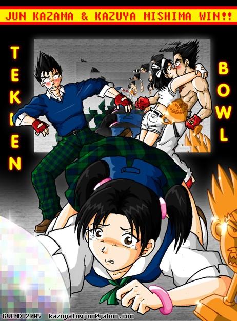 Tekken Bowl by gwendy85