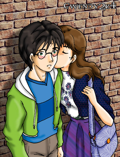First Kiss version 2 by gwendy85