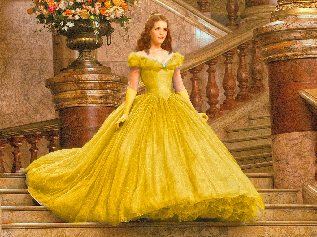 Emma Watson As Belle By Gwendy85