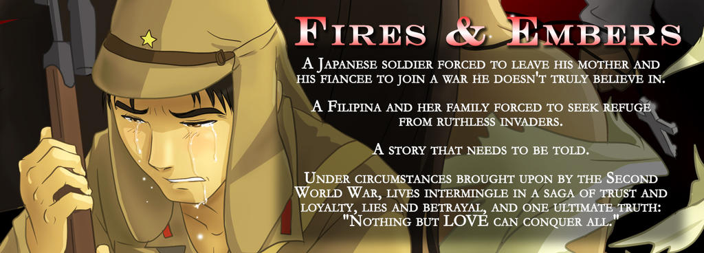 Fires and Embers Blurb by gwendy85