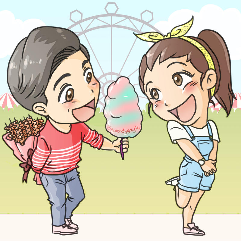 ALDUB / MaiDen : Isaw and Cotton Kenji by gwendy85