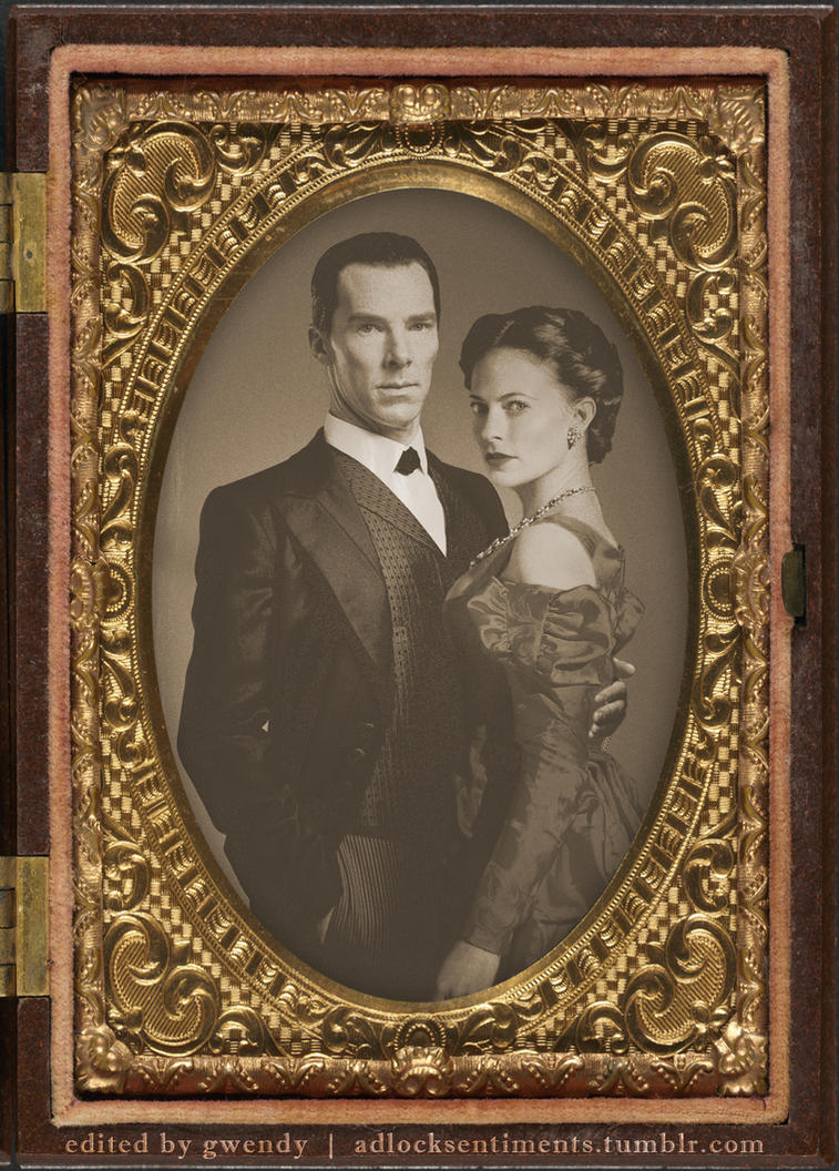 Vintage Sherlock Holmes and Irene Adler by gwendy85