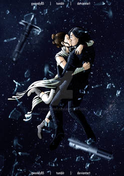 Zero Gravity Space Kiss