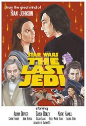 TLJ Retro Poster