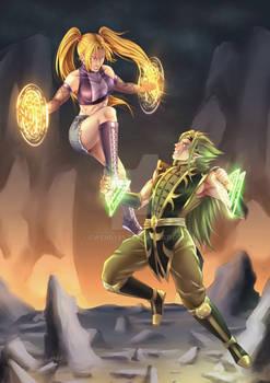 Talisman Wars: Andromeda vs Lexus