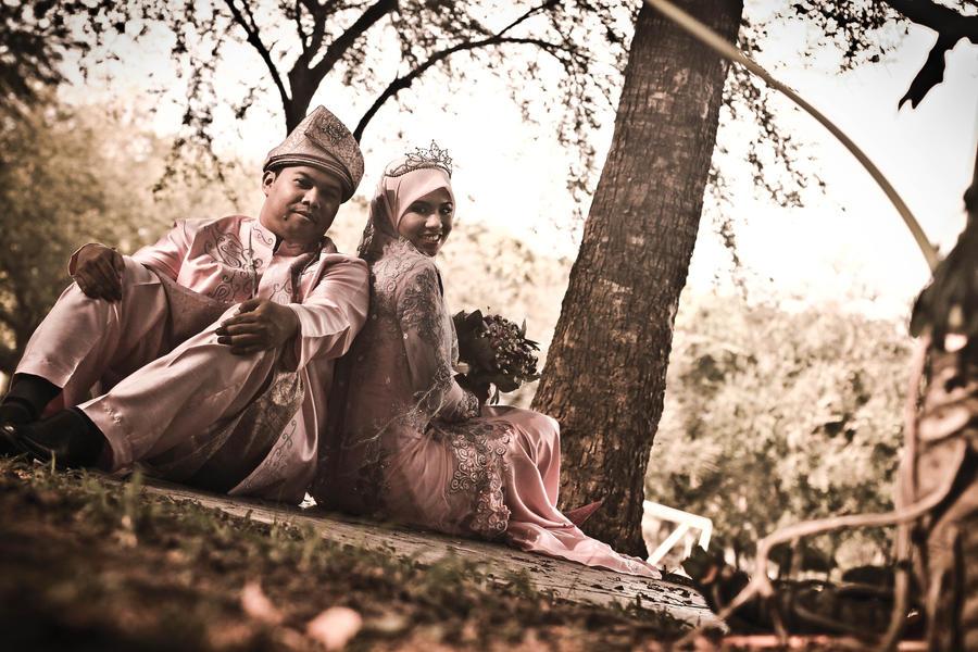 wedding garden by pameART