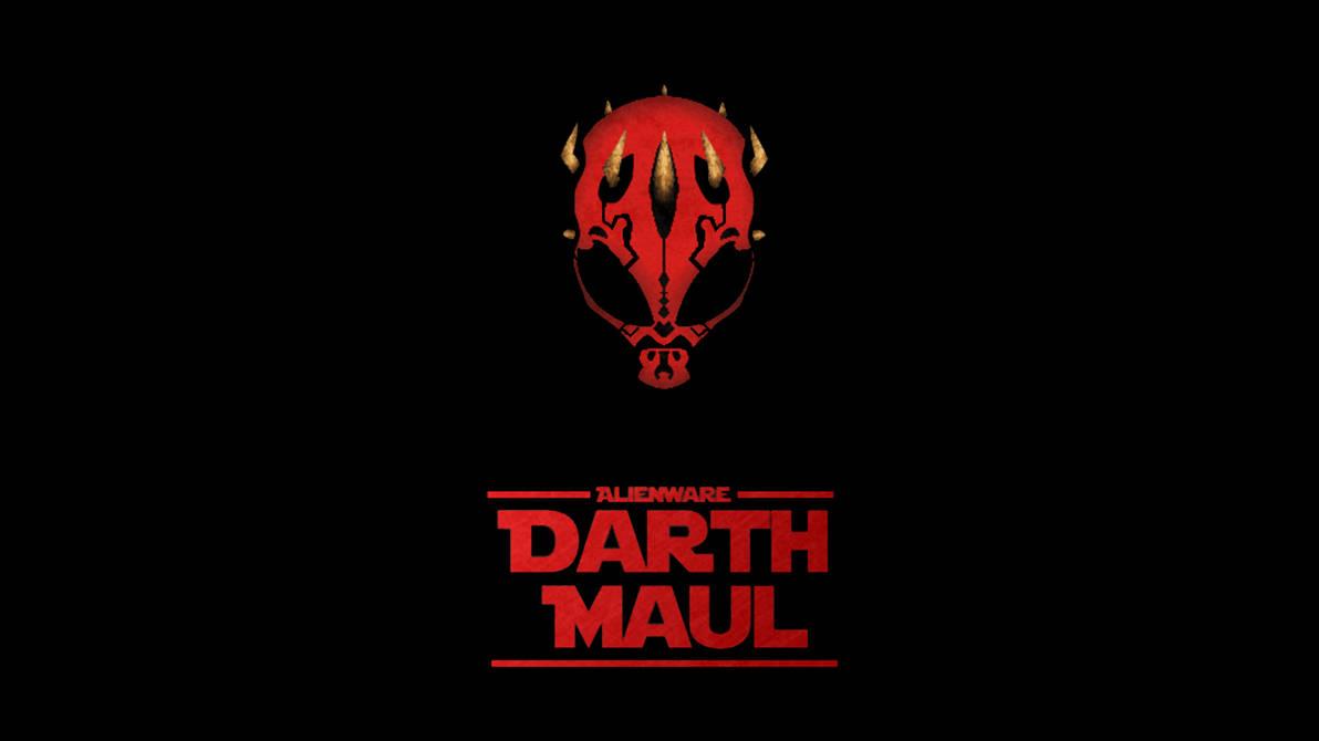 Darth Maul Alienware Wallpaper by