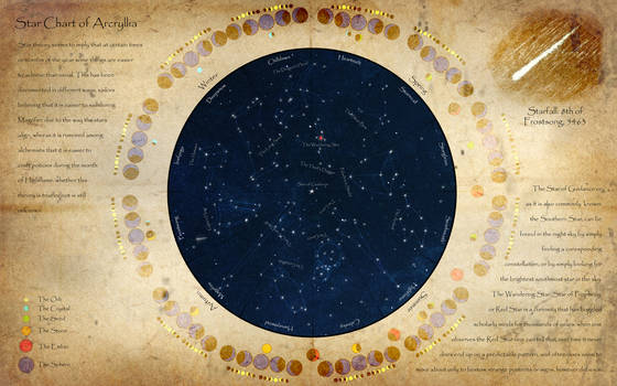 Arcryllia Star Chart