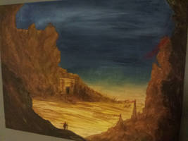 Desert of Zacatha by kristopherengel