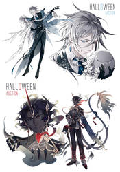 [ CLOSE ] Super late Halloween auction