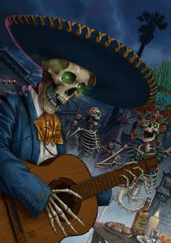Happy Halloween, and feliz Dia De Muertos!