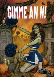 Halloween Card 2020 'Gimme an H!'
