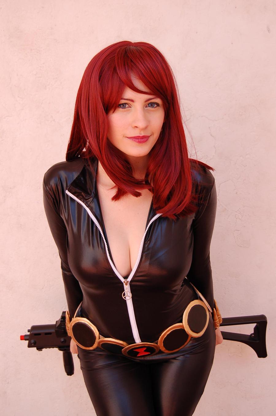 Black Widow by BrittanyRoseCosplay