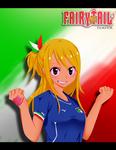 Lucy Heartfilia for Italy!