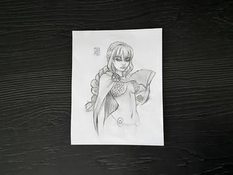 Rebecca! by myudamageeee
