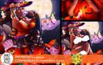 Chloe Fanart | Nsfw  | Halloween by myudamageeee