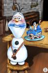 Little Olaf   Frozen by myudamageeee