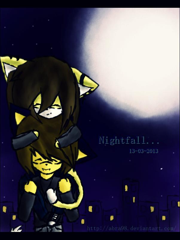 Nightfall... by Abra98