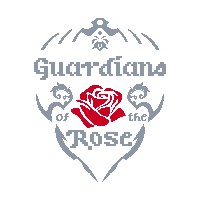 Guardians of the Rose Logo - First Draft by PixelxPixelGames