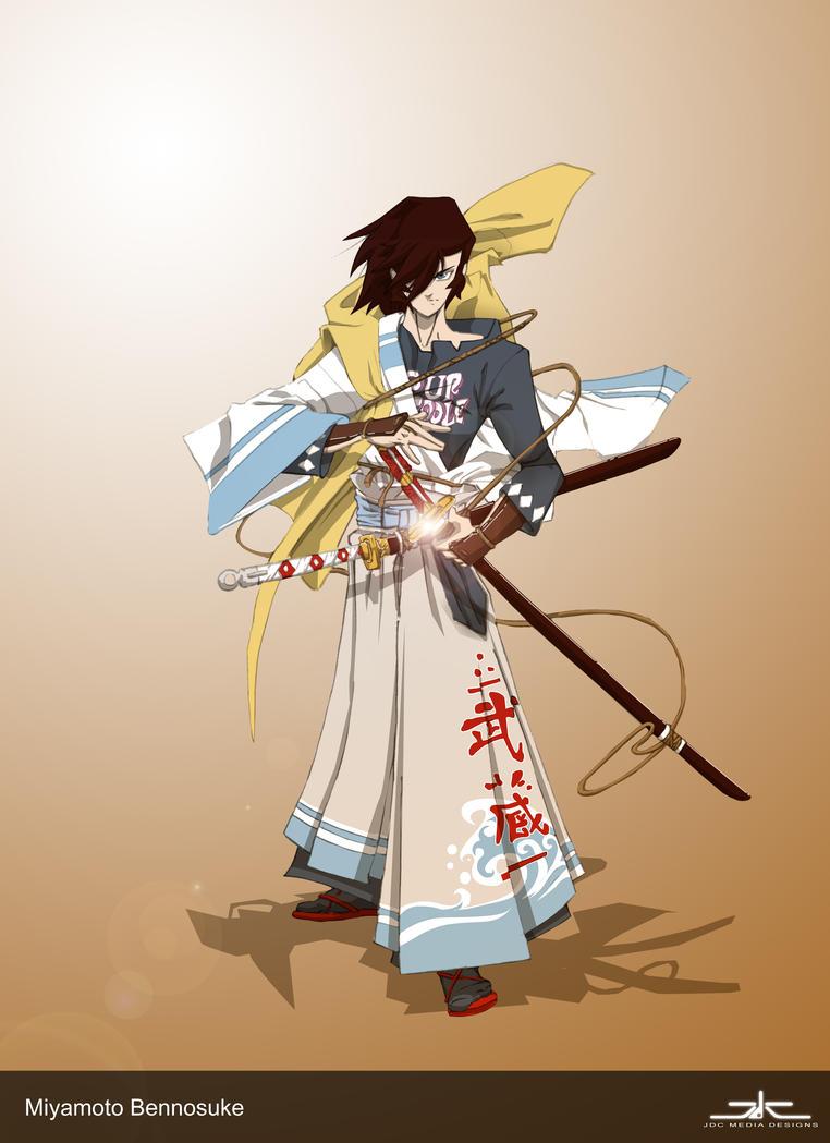 Miyamoto Bennosuke by RoninsUltramix