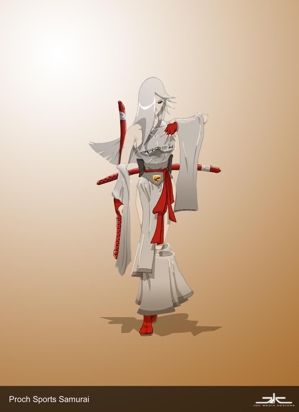 Proch Sports Wear Samurai by RoninsUltramix
