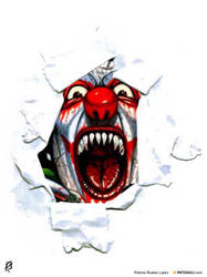 Scary Clown by patokali