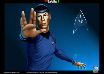 Spock by patokali