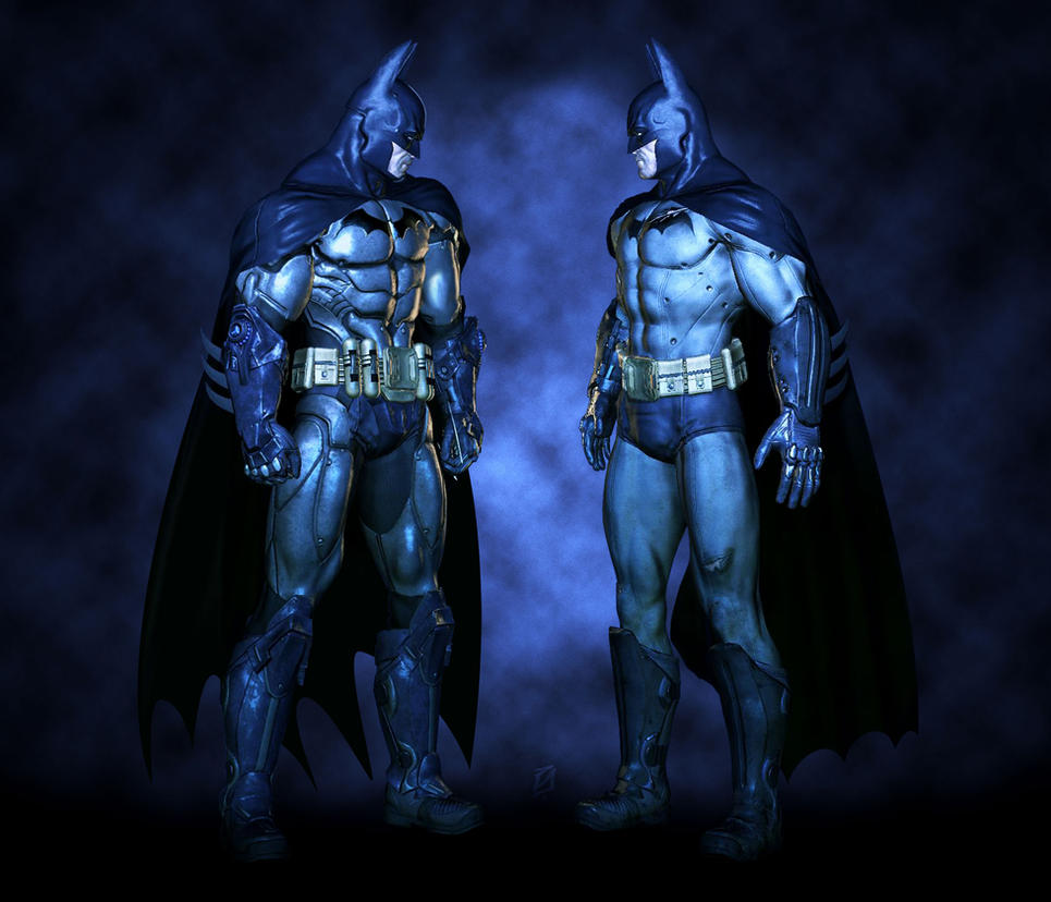 Batman Arkham Asylum Art