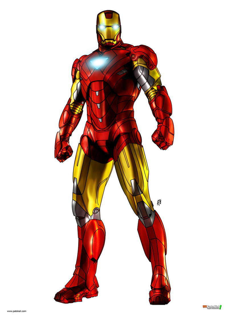 IRON MAN COLOR by patokali on DeviantArt