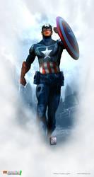 Chris Evans Captain America by patokali