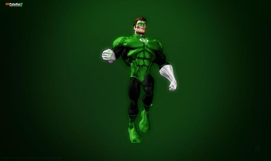 Green Lantern ZBrush4 by patokali