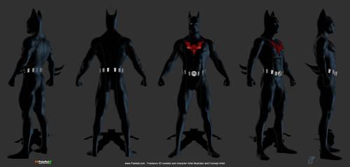 Batman Beyond by patokali