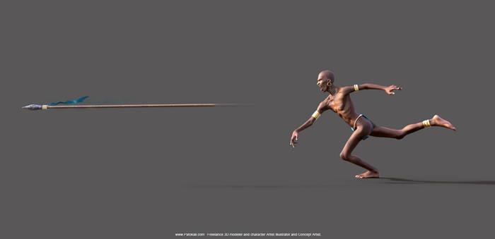 African Warrior Rough