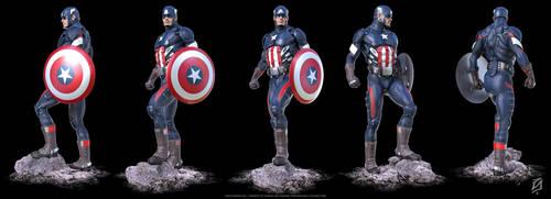 Captain-America-14-KS3 by patokali
