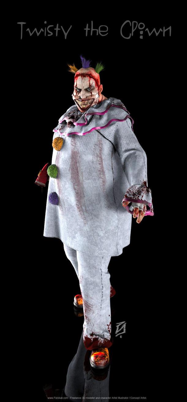 Twisty-the-ClownKSHR by patokali