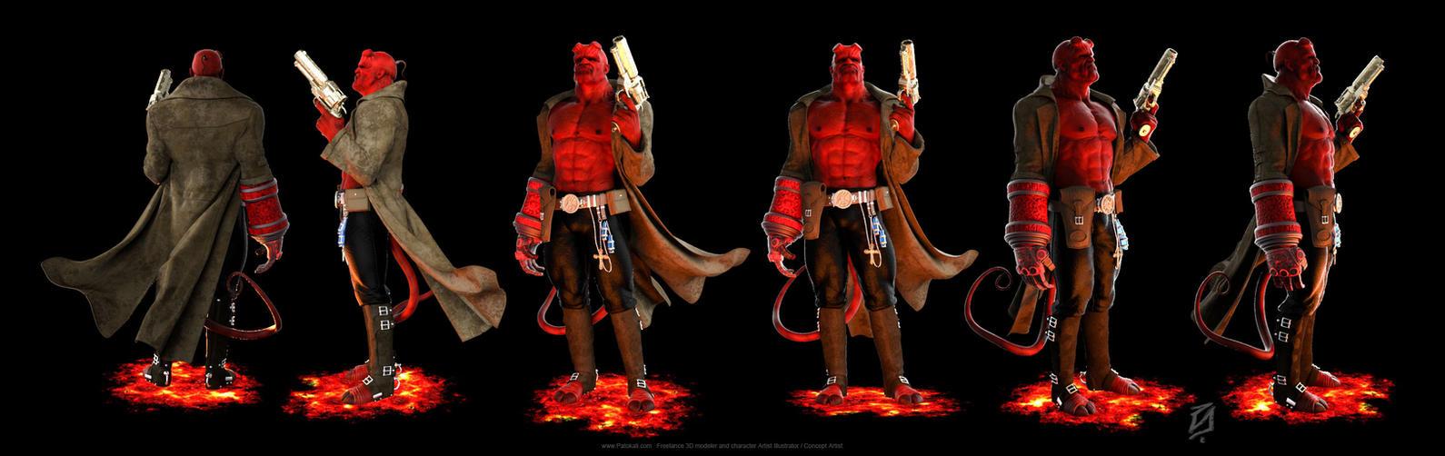 Hellboy-KSLR by patokali