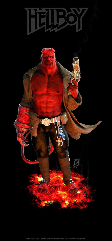 Hellboy-KSHR by patokali