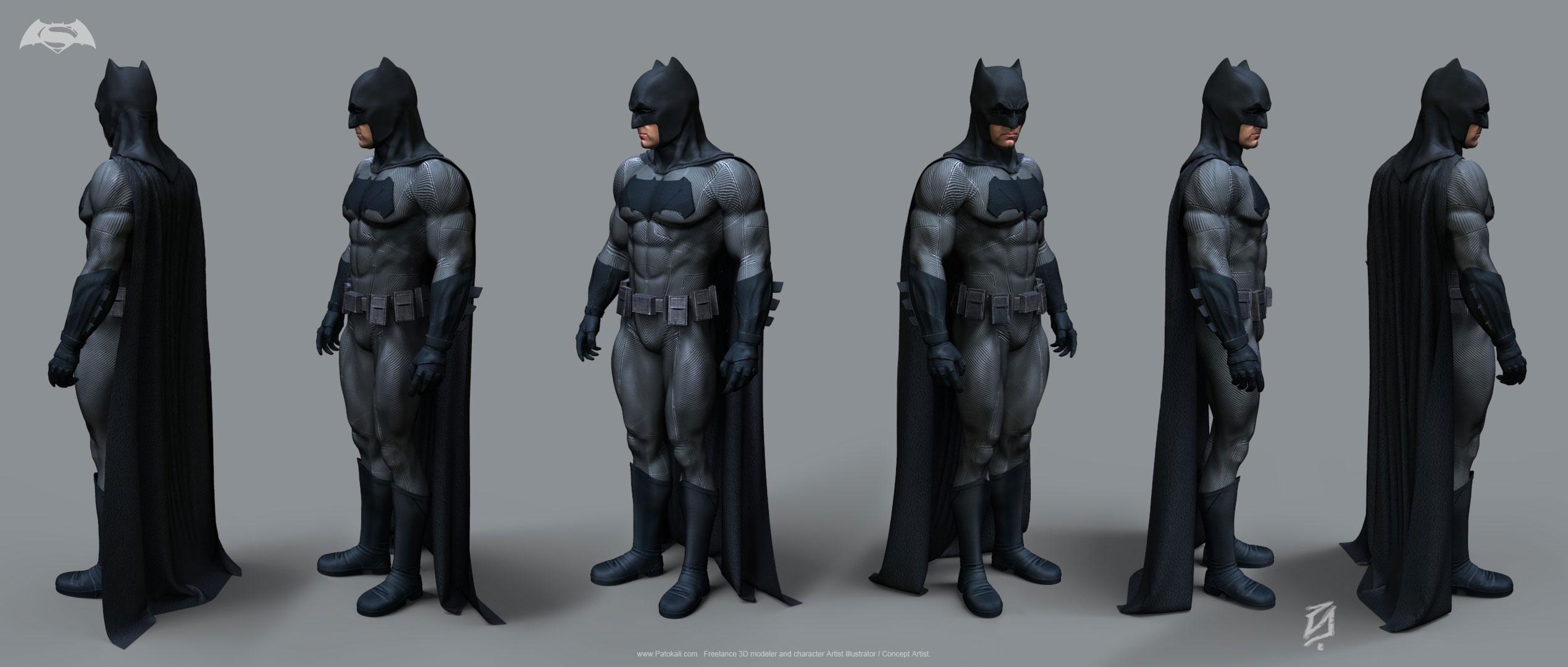 Бэтмен Костюм