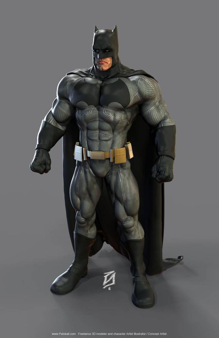 Batman (Ben Affleck) Minecraft Skin