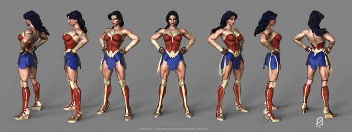 Wonder-Woman-Toon-KS1 by patokali