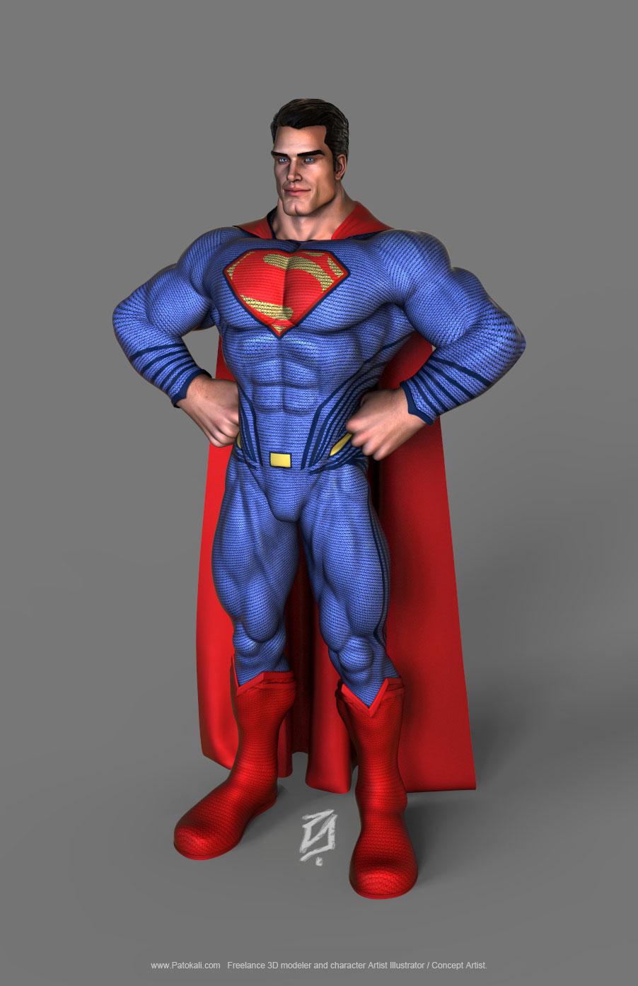 Supertman-Toon-KS2 by patokali