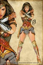 Wonder Woman  Color 3 by patokali